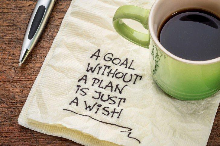A goal wihout a plan