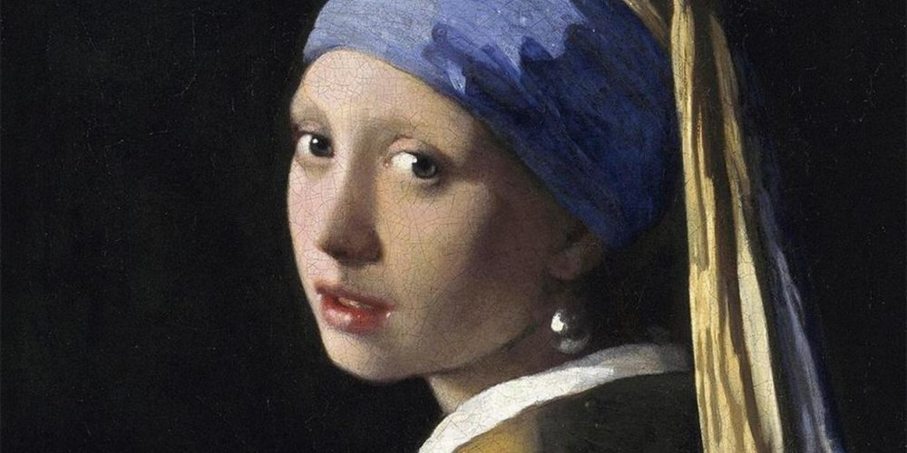 girl with a pearl earring setting