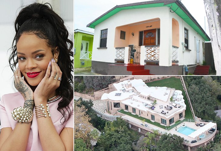 Celebrity Houses Part - 35: Rihanna Is One Of Those Artists Who Rose To Fame And Became A Superstar  Very Suddenly. Her Family Struggled With Mortgages And Loans Just Like The  Rest Of ...
