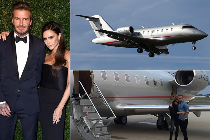Картинки по запросу Beckham - Bombardier Challenger