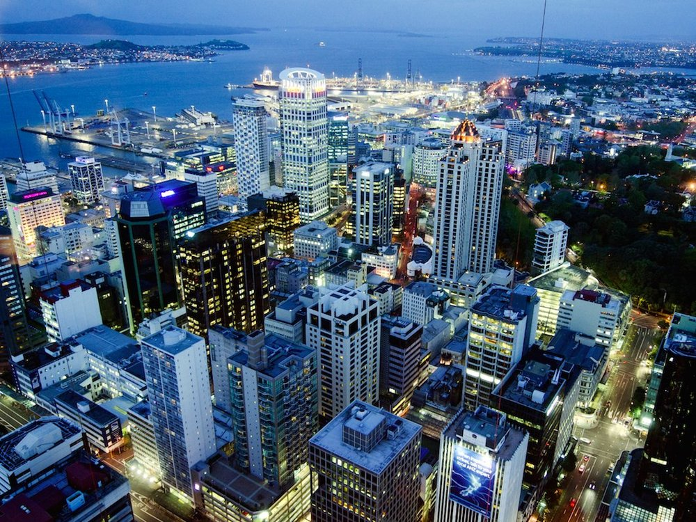 The Bustling Financial Hub of Auckland, New Zealand