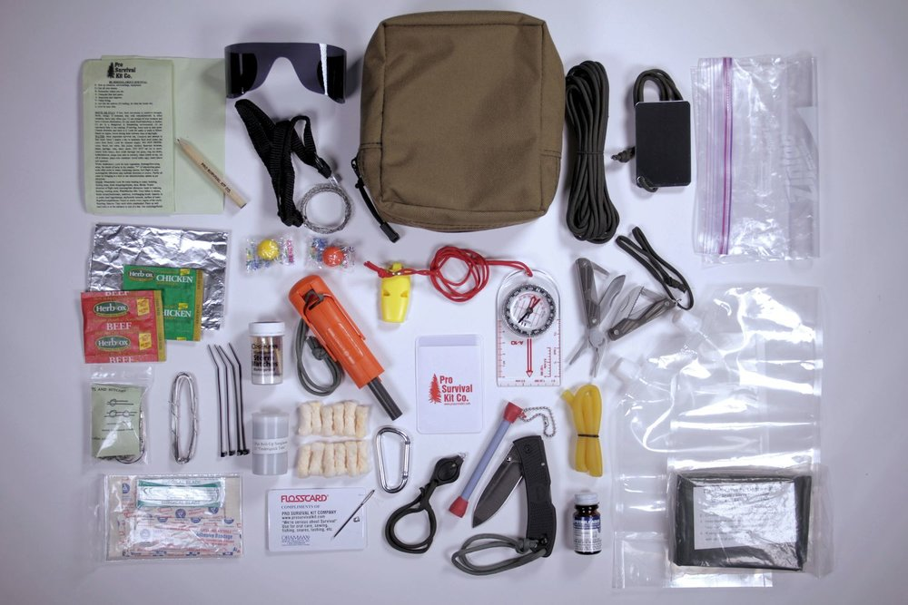 Pack Up Your Emergency Survival Kit