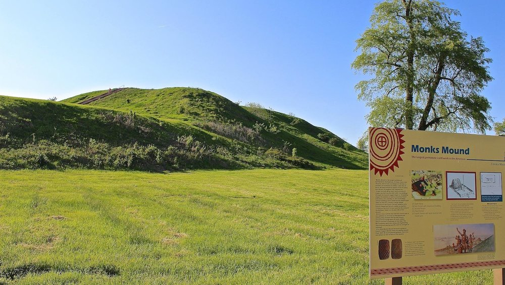 Cahokia Mounds was known as the perfect destination to spot solar eclipse.
