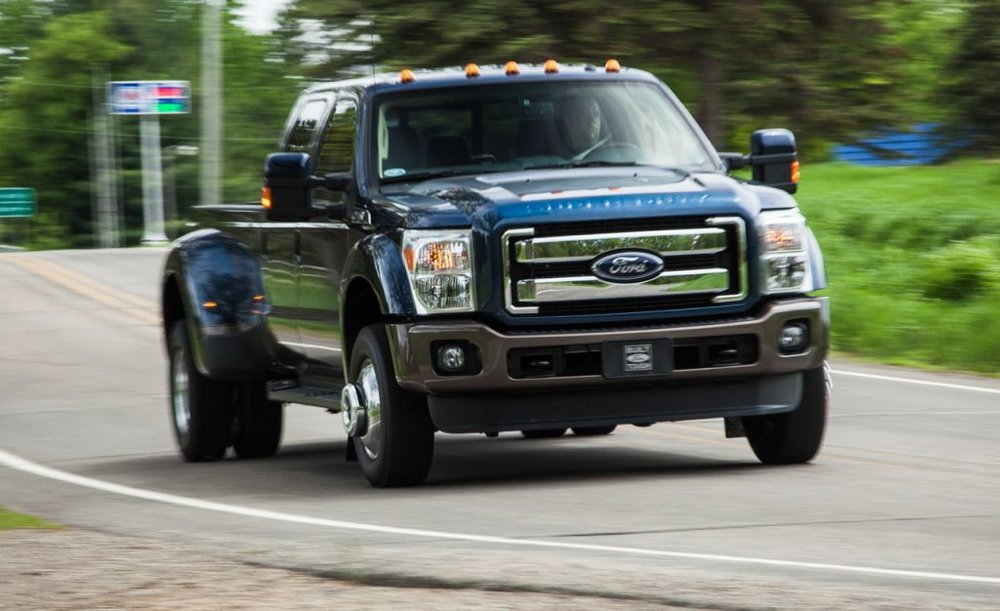 ford duty super 450 limited heavy truck pickup 350 diesel 4x4 test buyers taken level prices market