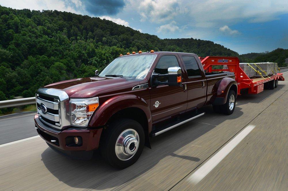 ford unveils f 450 super duty limited pickup truck loan. Black Bedroom Furniture Sets. Home Design Ideas