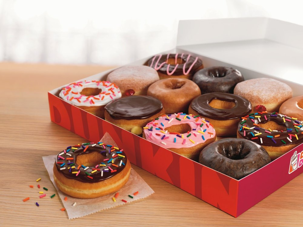 Dunkin Dnonuts to Reduce Their Food Menu from 30 to 18