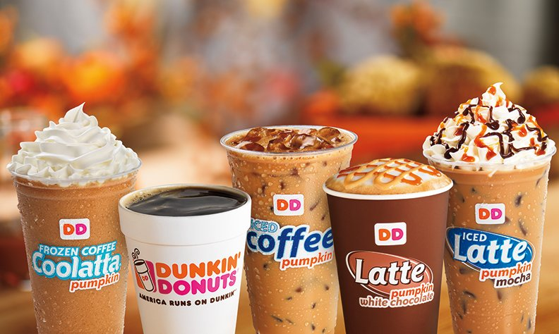 Dunkin Donut to Focus on Beverages and Introduce New Flavors