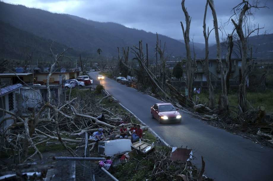 Hurricane Maria Made a Landfall on Puerto Rico