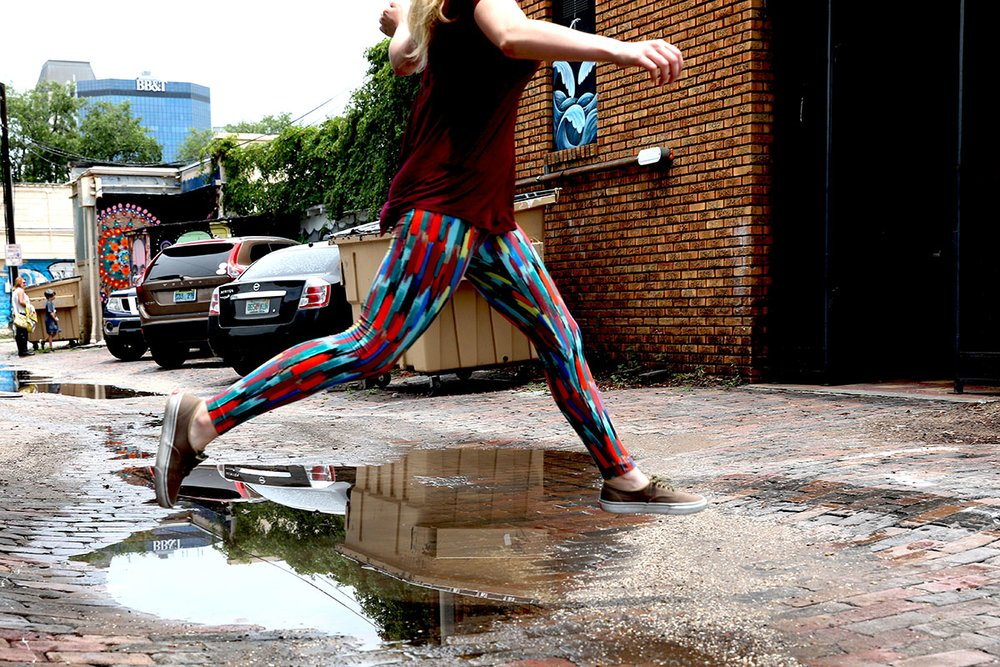 LuLaRoe is known for its wild patterned leggings products