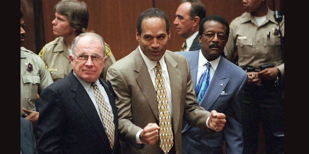 OJ Simpson Got Involved in Court Trials After Murdering his Wife and Friends