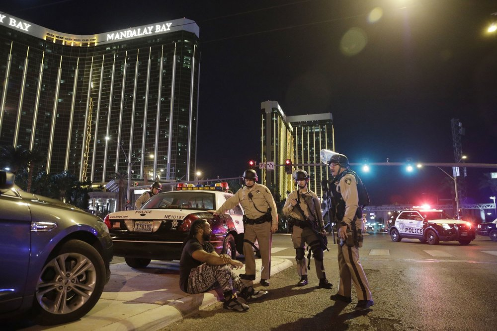 Police Authorities who Responded to Las Vegas Shooting