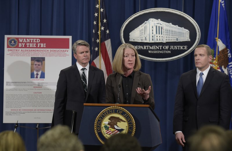 U.S. Department of Jusrice Charged the Hackers Responsible for Yahoo Breach