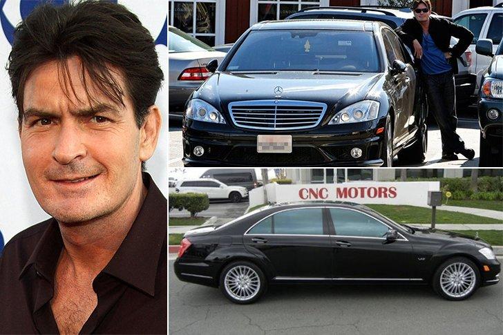 Charlie Sheen Mercedes Benz S600 Estimated 159k