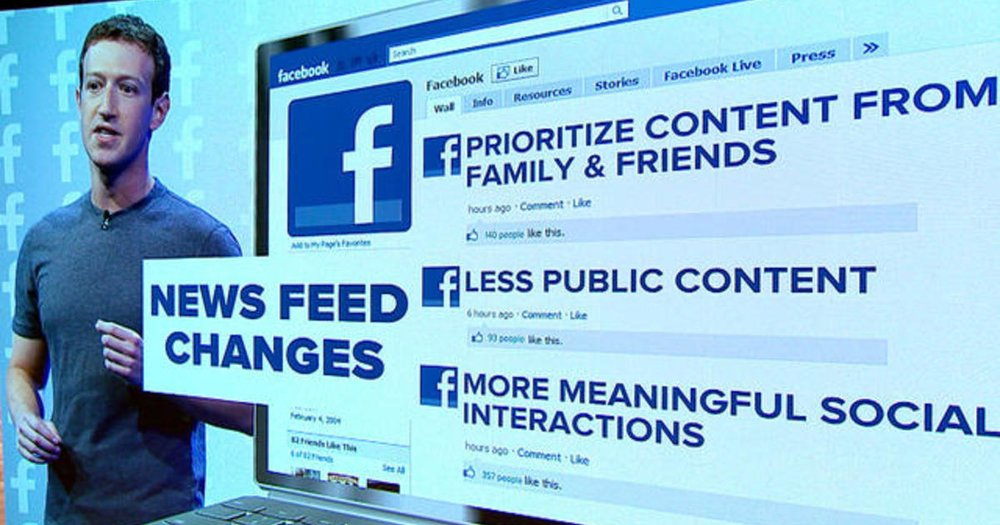 Facebook's News Feed Set to Undergo a Major Change