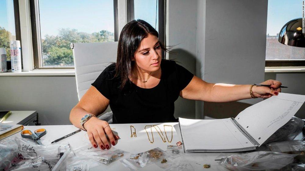 Adina named her jewelry line