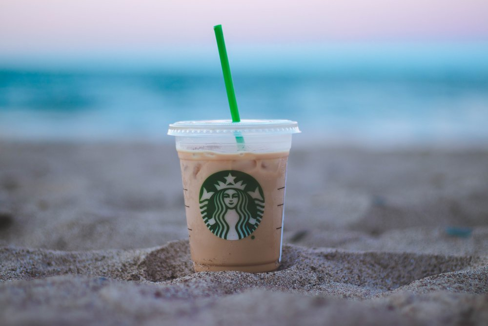 The company noticed their iced beverages are immensely popular to customers all day.