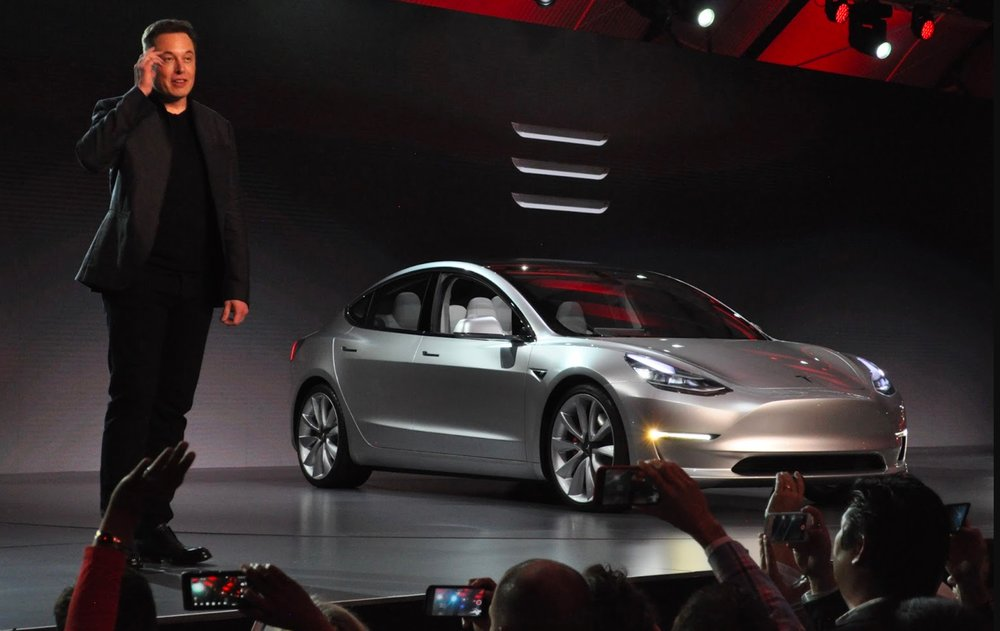 The investors want to get a specific number of reservation lists to determine how in-demand Model 3 is.