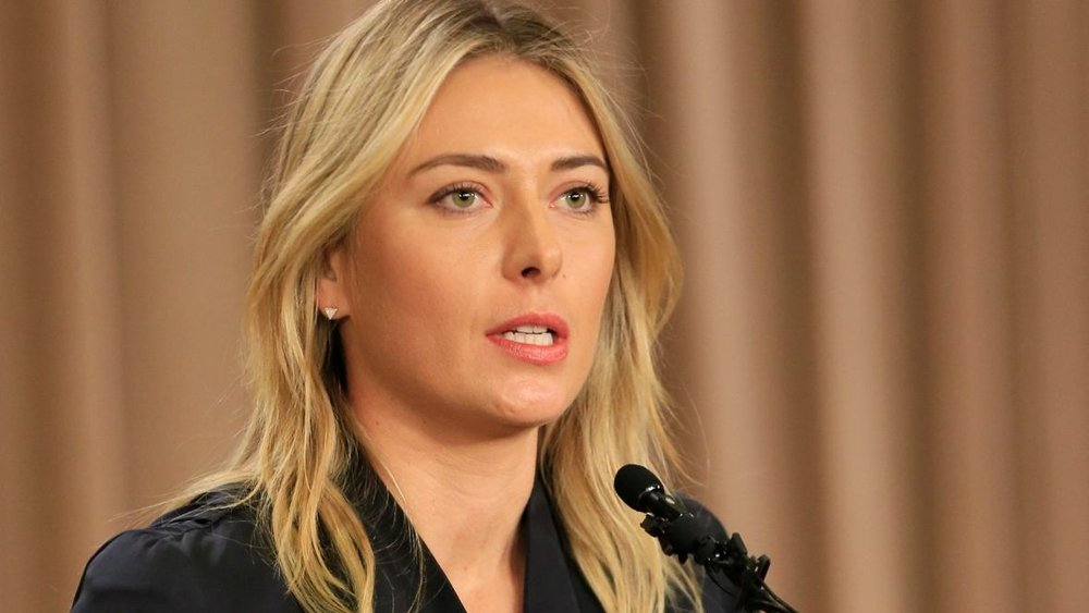 Her father's hard work and commitment inspired Sharapova to work hard in her tennis lessons as such a young age.