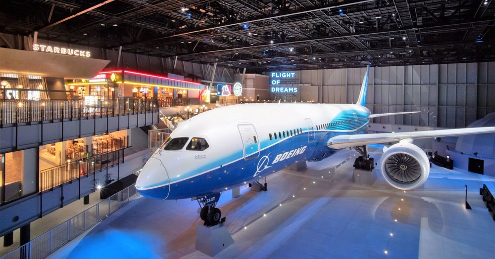 Boeing produces Dreamliner in its two factories located in Washington and South Carolina states.