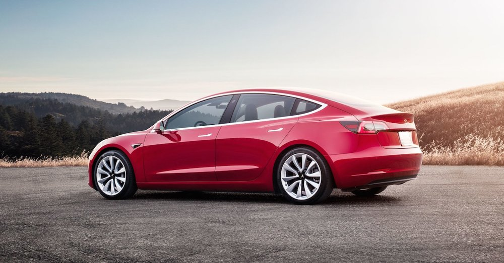 Tesla held a delivery ceremony for the car in Beijing last Friday.